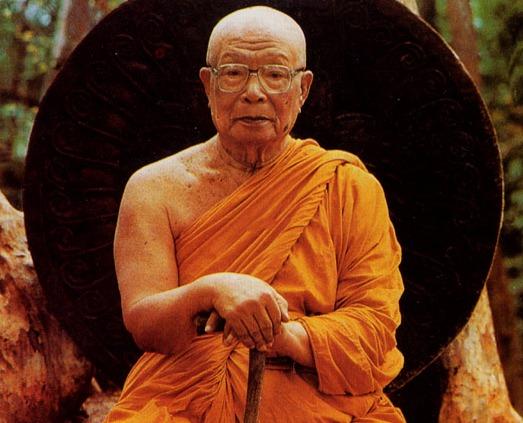 Ven. Ajāhn Buddhadasa at Suan Mokkh.
